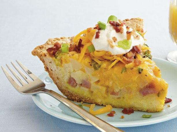 My Favorite Things: Loaded Potato Quiche