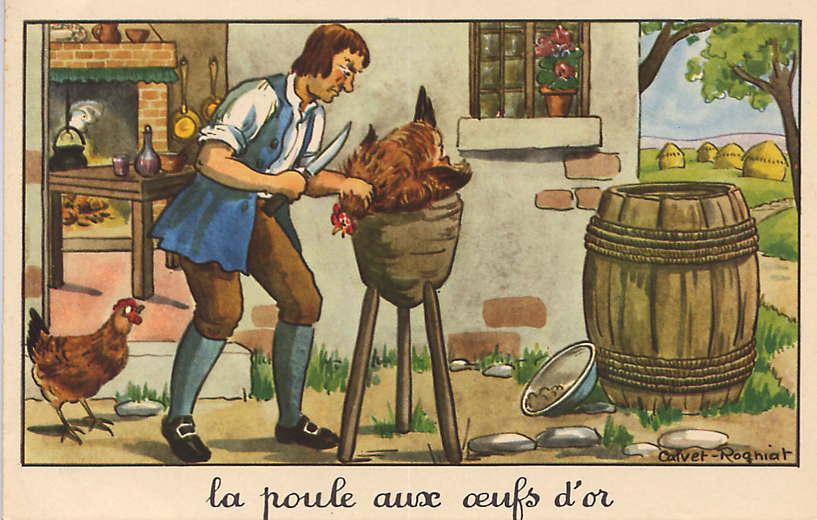 H raldie calvet rogniat illustrateur des fables for La fontaine aux cuisines