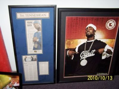 2 Plaques Of Young Buck