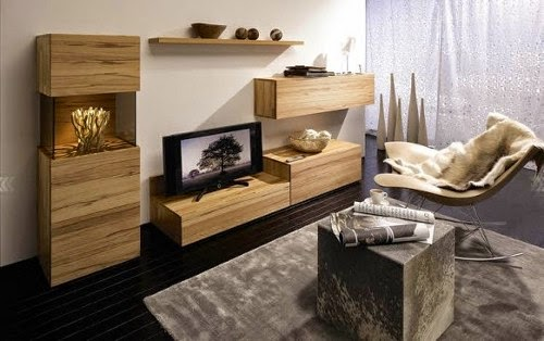 small living room with tv decorating ideas using tv cabinet by Huelsta