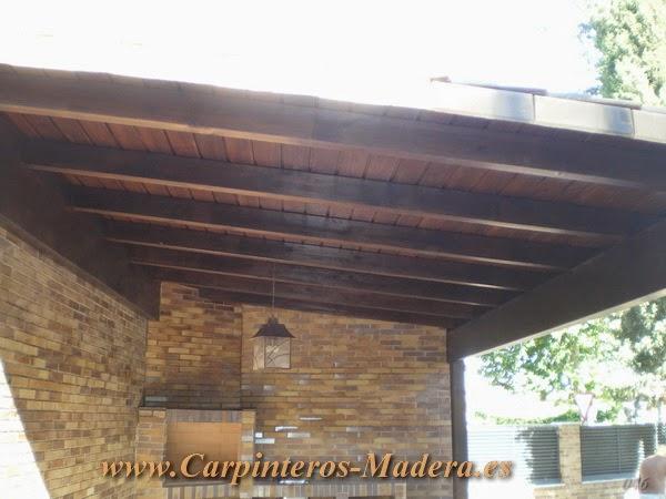 Porches madera madrid carpinteria de madera empresa de carpinteria de madera - Carpinteria de madera madrid ...