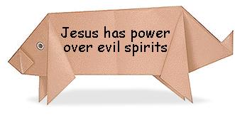 Growing Kids in Grace: Jesus has authority over evil spirits