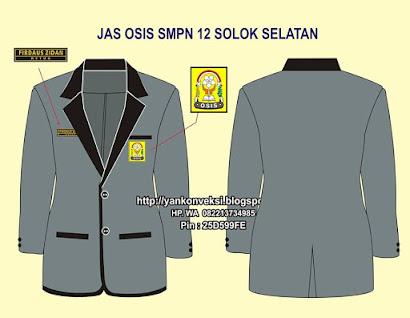 JAS PENGURUS OSIS SMPN 12 SOLOK SELATAN