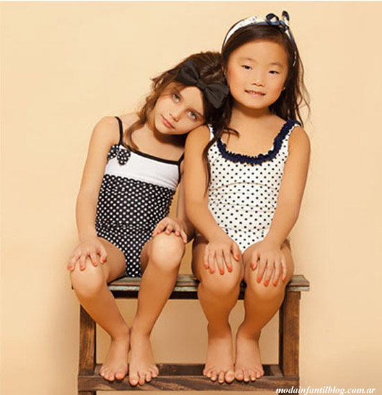 mallas infantiles nucleo nenas verano 2014