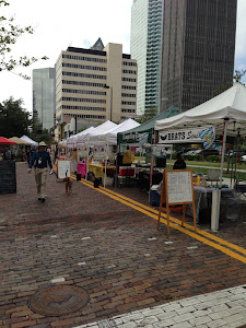 What a wonderful time the Tampa Downtown Market was!  My first time there, but it won't be my last!