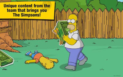 The Simpsons Tapped Out Mega Mod Apk