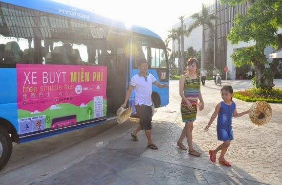 Xe Buss Du Lịch Miễn Phí Đầu Tiên Ở Quảng Ninh