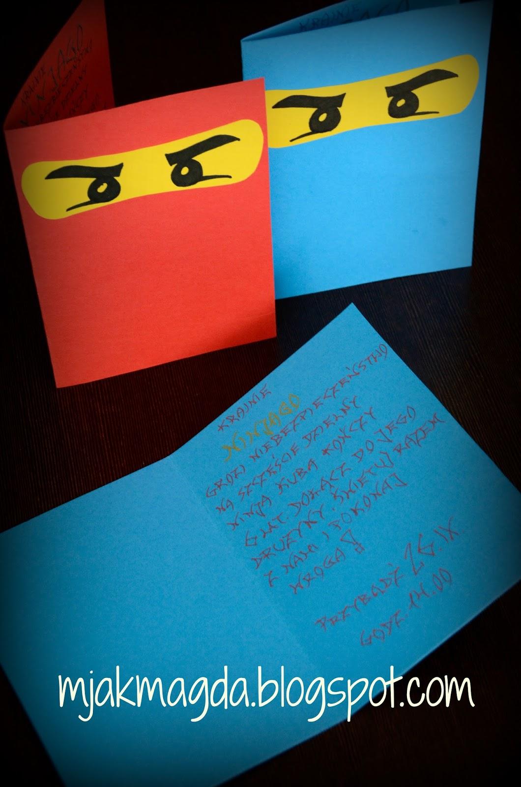 M Jak Magda Lego Ninjago Party