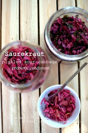 how to make sauerkraut : the pickled sour cabbage, a probiotic supplement for everyone...