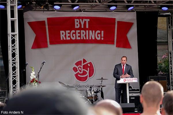 Stefan Löfven, talar, Göteborg