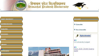 HP BE.d Result 2013 | HPU bed Result / Merit List 2013