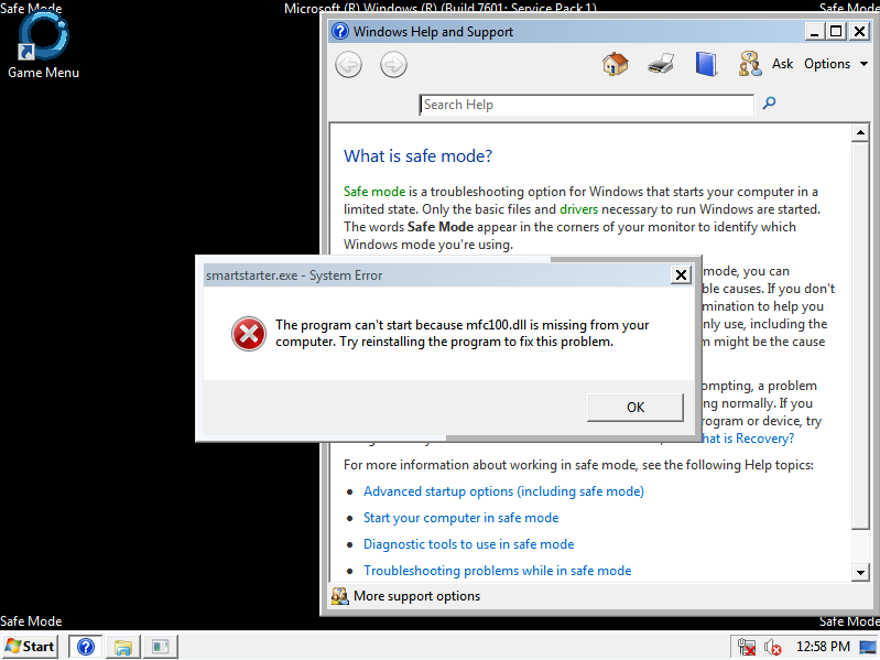 Cara Mengatasi Error Install Smart Billing mfc100.dll di Windows 7