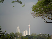 Petronas Towers and KL Tower