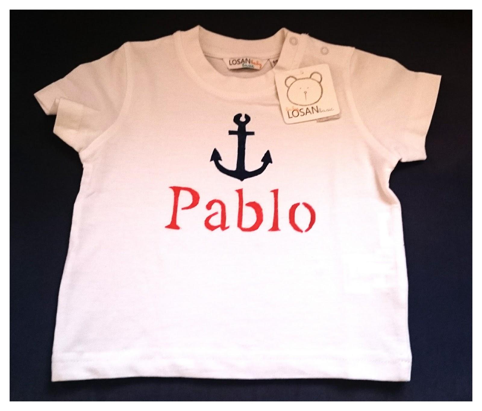 Revelo ideas low cost como pintar camisetas y - Plantillas para pintar camisetas ...