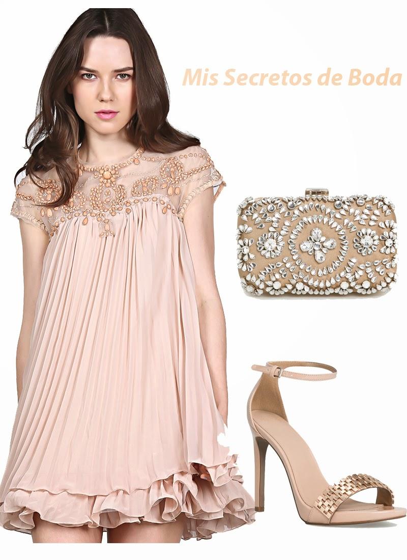 Combinar un Vestido Rosa. - Mis Secretos de Boda Events