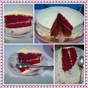 RED VALVET CAKE with Cream Cheese
