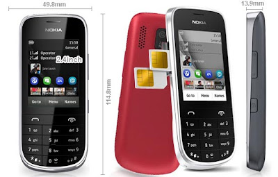 Nokia Asha 202 Full Specifications and Details