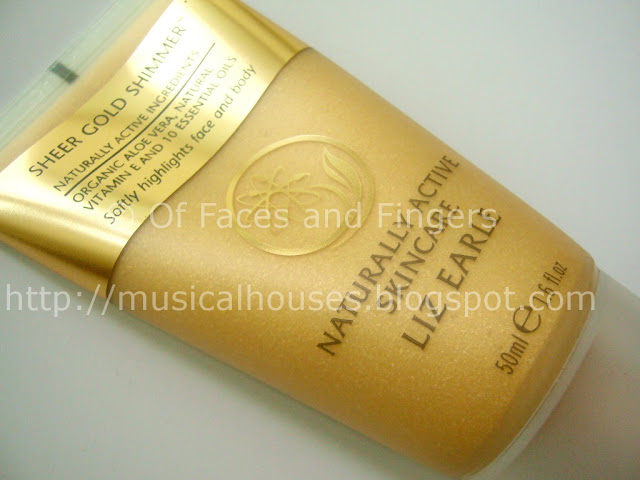 Liz Earle Sheer Gold Gold Shimmer