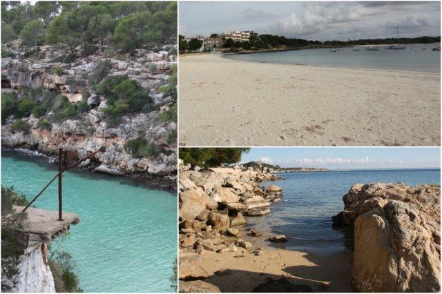 Playas en Mallorca – Cala Pi, Colonia Sant Jordi, Cas Catala