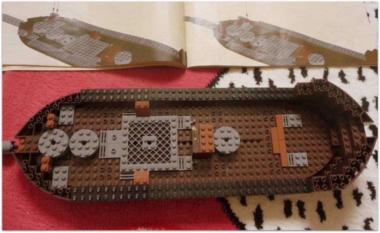 how to make a cardboard pirate ship step by step
