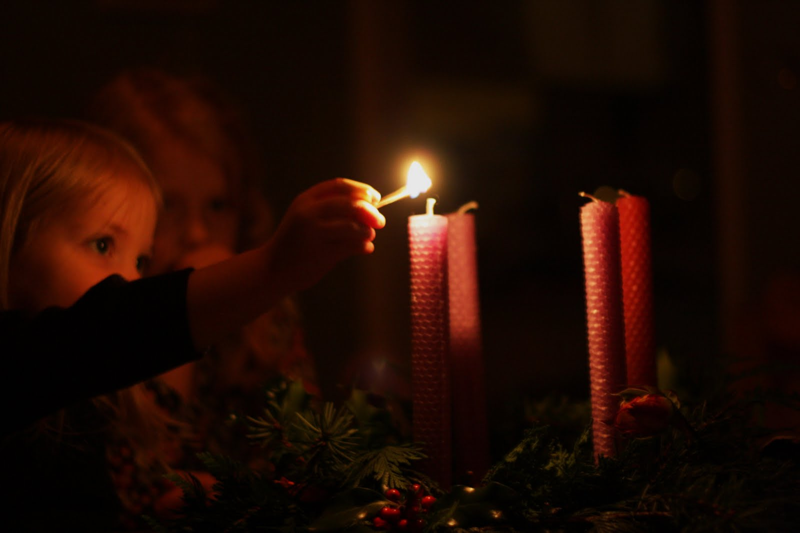 & Frontier Dreams: Rhythm In Our Home : The First Sunday in Advent