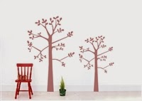 Decals Time Tree Wall Stickers Vinyl Wall Art Etsy Stalkers