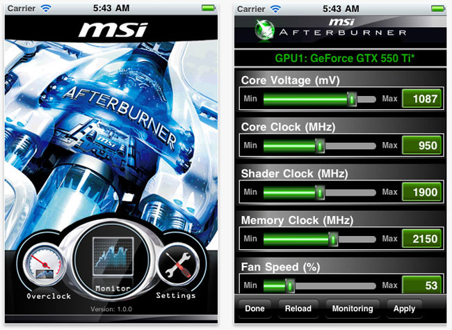 Msi Afterburner 2.1.0 Final Торрент