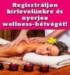Nyerj wellness-hétvégét!