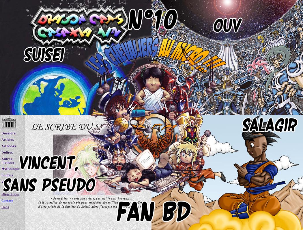 Les Chevaliers au Micro N° 10 : Fan BD