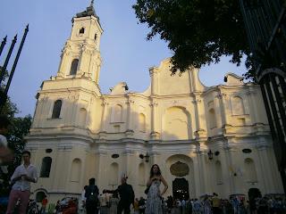 kościół św Trójcy w Kobyłce
