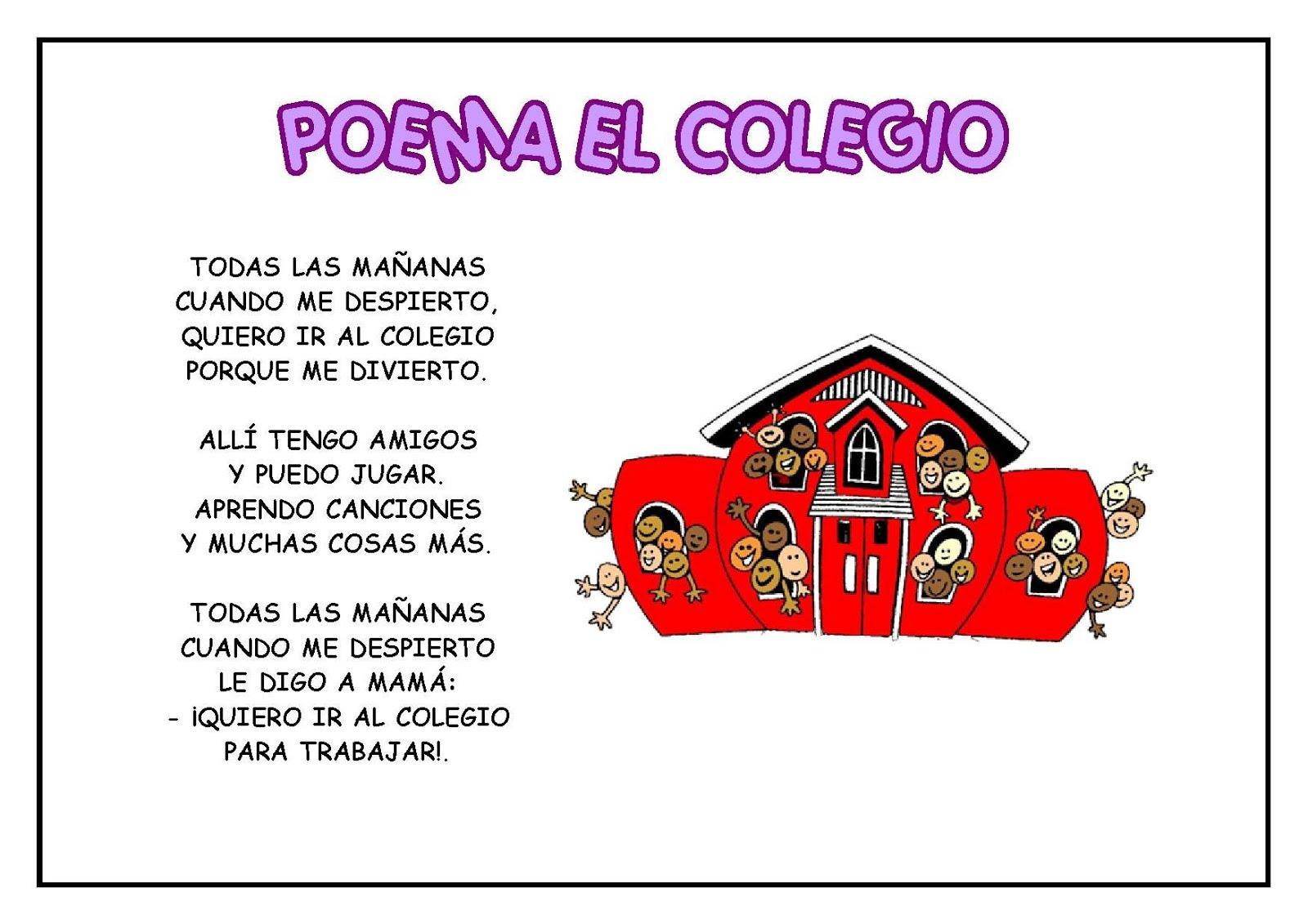Poemas Para MI Escuela