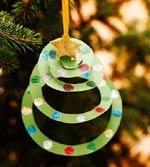 Riciclo creativo carta -  decorazione alberello di Natale