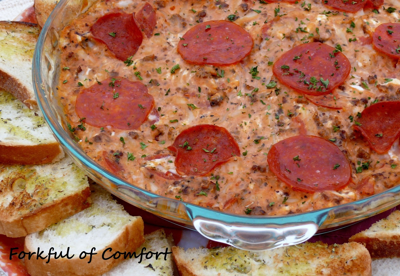 Pizza Dip Recipe — Dishmaps
