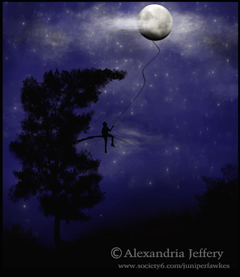 Lost In The Moon by Alexandria Jeffery
