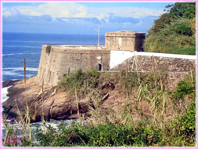 Fortaleza de São João no Rio de Janeiro