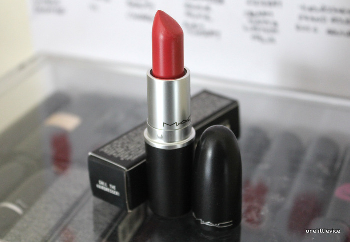 mac lipstick haul: one little vice beauty blog