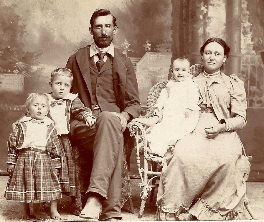 steven bennett and martha jane marley carroll family portrait