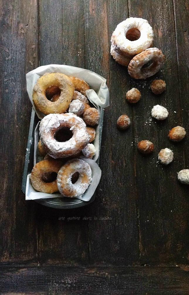 peach + curry buttermilk doughnuts | une gamine dans la cuisine