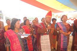Tugu Kebersamaan Pomparan Raja Simanihuruk di Harapohan Samosir Bakal Jadi Obyek Wisata Budaya