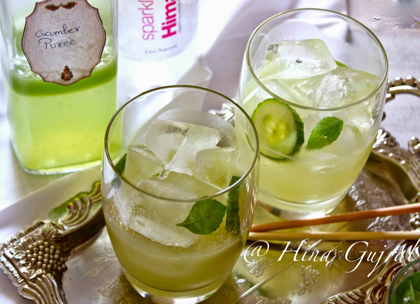 Cucumber Lemongrass Lemonade is an absolutely refreshing drink for the summer. Find Cucumber and Lemongrass Lemonade Recipe