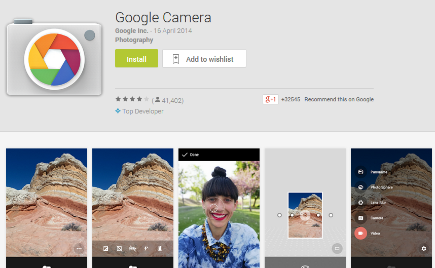 Download Google Camera
