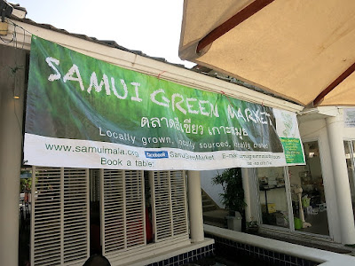 Samui Green Market January 2016