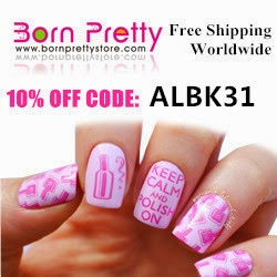 Use this code to get 10% off at Born Pretty :)