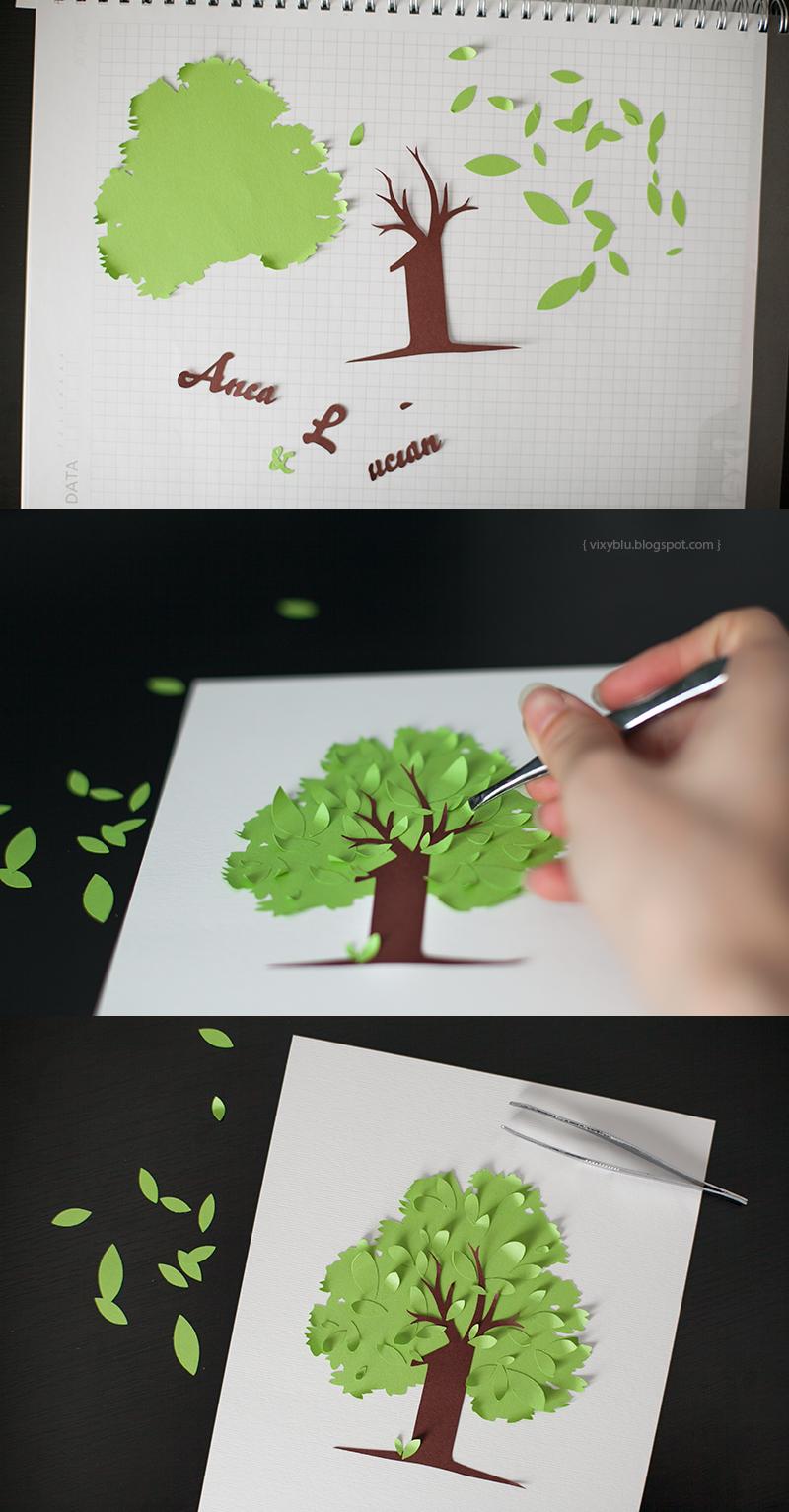 Tablou copac 3D