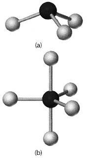 Struktur molekul PCl3 PCl5