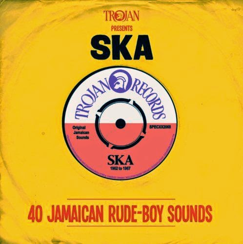 TROJAN PRESENTS SKA - 40 Jamaican Rude-Boy Sounds