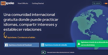 Aprende idiomas conversando con usuarios nativos en WeSpeke