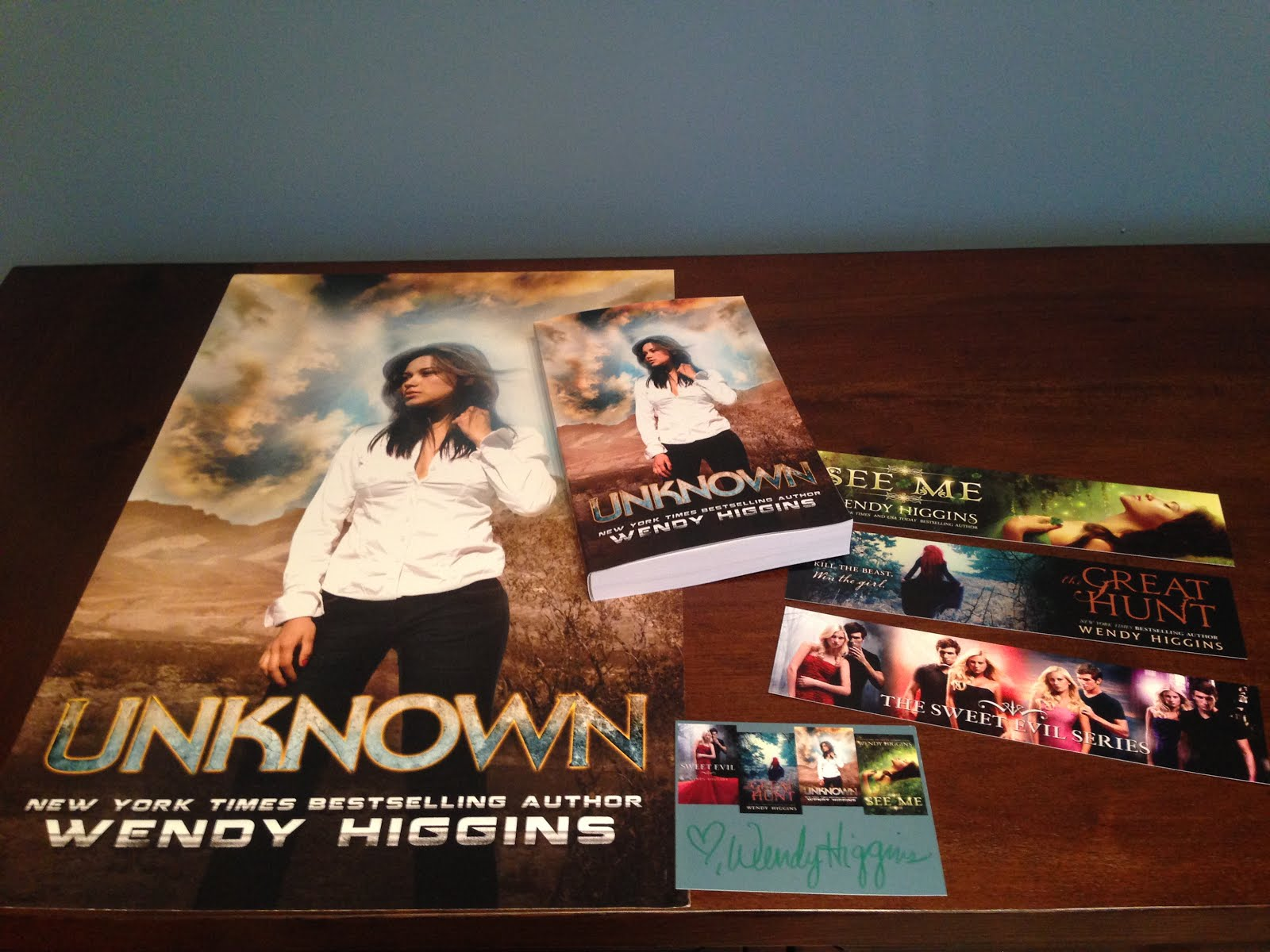 Unknown by Wendy Higgins Blitz Giveaway