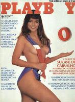 Confira as fotos da atriz e esportistas, Suzane Carvalho, capa da Playboy de outubro de 1982!