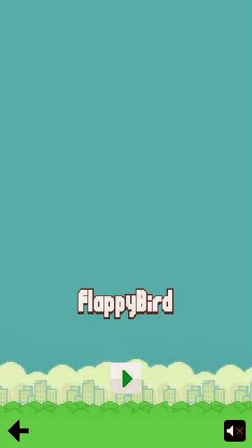 FlappyBird Game on Nokia 5800